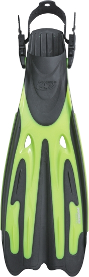 Tiara Pro Diving Fins                         - Neon Yellow